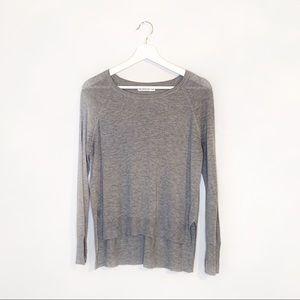 ⚪ Zara | Knit Long Sleeve Top